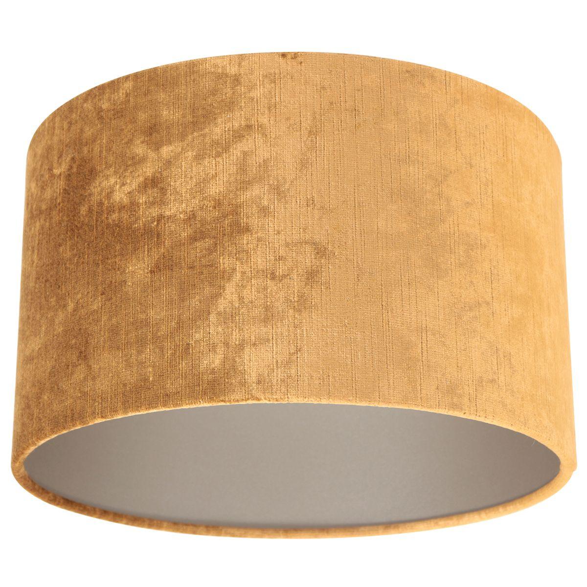 Steinhauer - Kap - lampenkap Ø 30 cm - velours goud