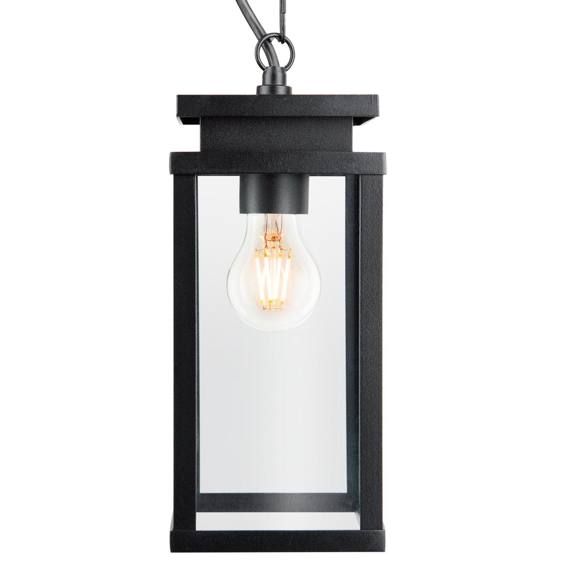 KS Verlichting buiten hanglamp Jersey Ketting - zwart