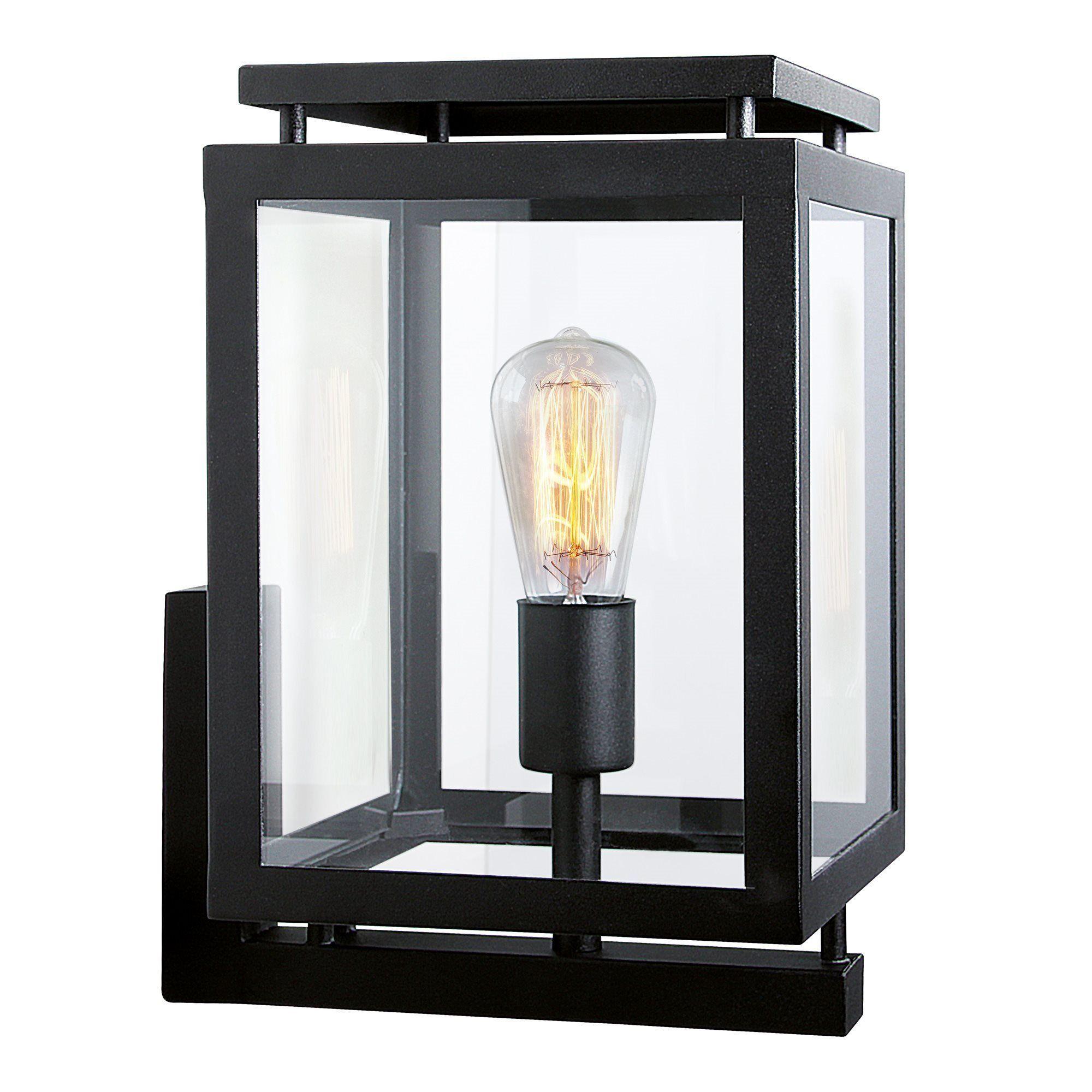 KS Verlichting buiten wandlamp De Vecht - zwart