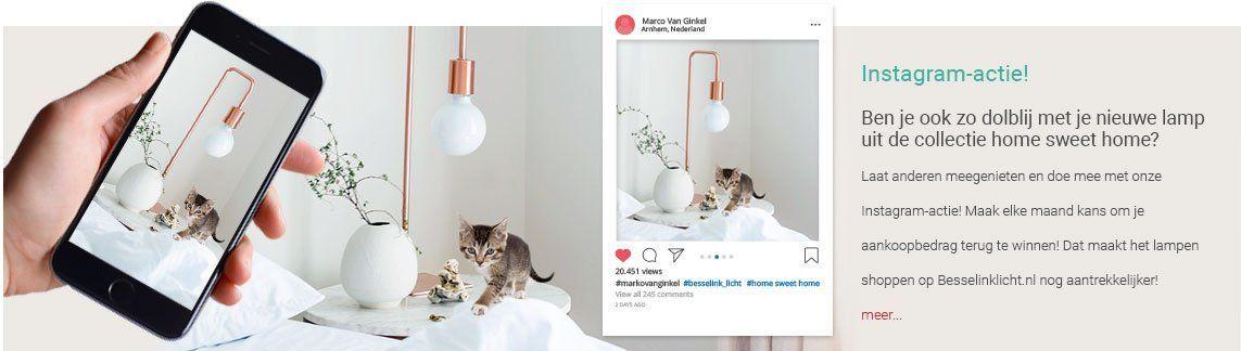 Instagram Actie
